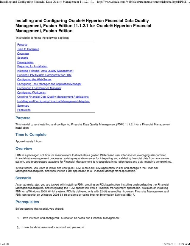 hyperion financial management user guide 11.1.2