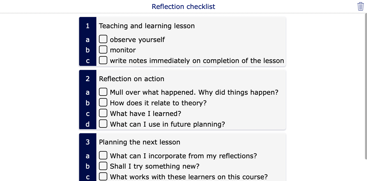 a guide to productive pedagogies classroom reflection manual