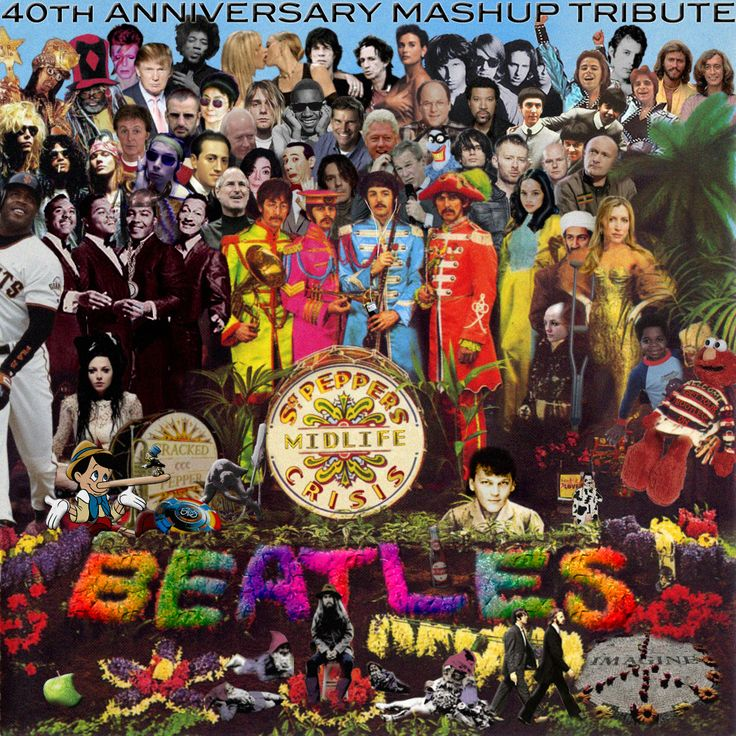 guide to sgt pepper cover