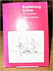 crime and justice a guide to criminology isbn