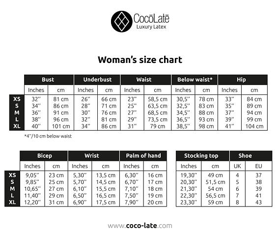 coco and ginger size guide
