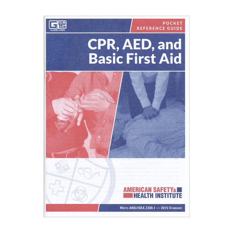 prepare a pocket guide on first aid